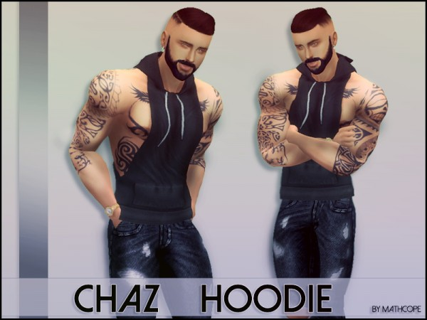 Sims Studio: Chaz Hoodie by mathcope