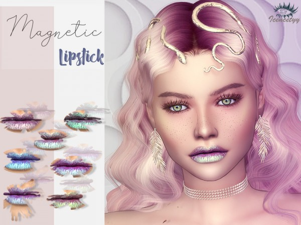The Sims Resource: Lipstick V4 by icencetyy