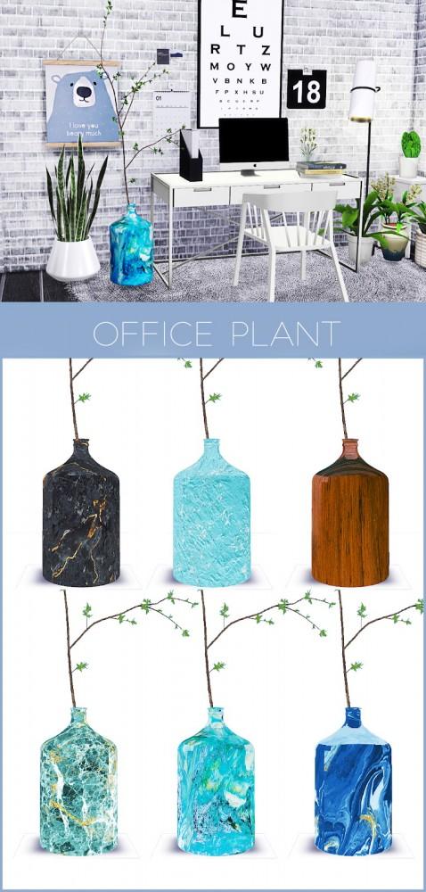 Kenzar Sims: Office Plant