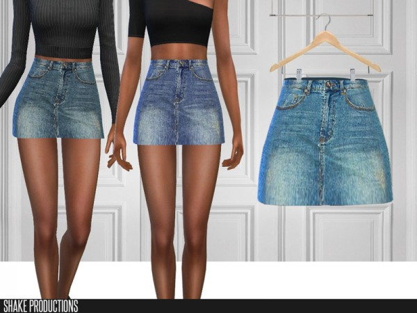 The Sims Resource: 276   Denim Skirt by ShakeProductions