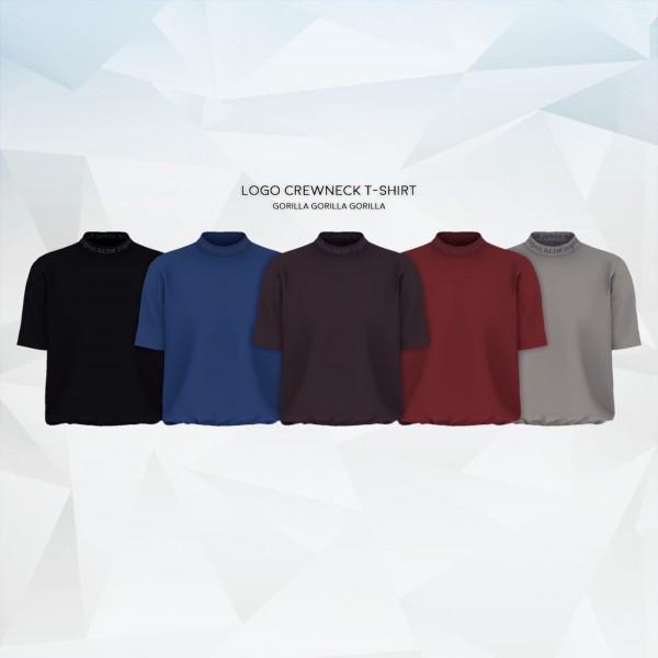 Gorilla: Logo Crewneck T Shirt