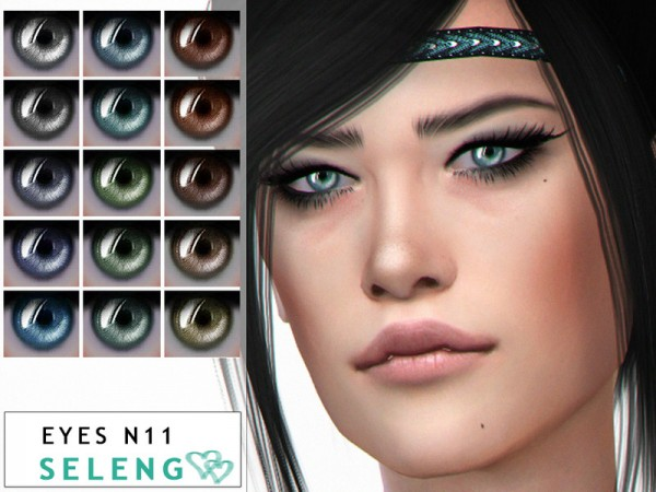 The Sims Resource: Eyes N11 by Seleng