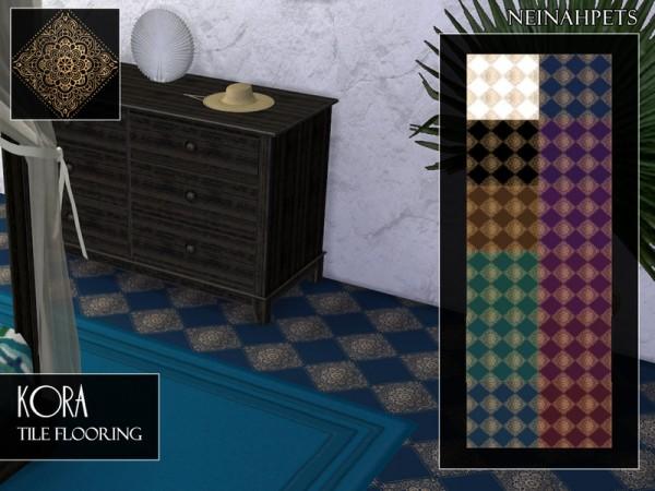The Sims Resource: Kora Tile Flooring by neinahpets