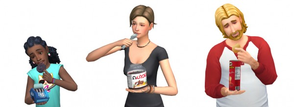 Around The Sims 4: Junk Food