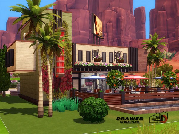 The Sims Resource: Cafe Drawer by Danuta720