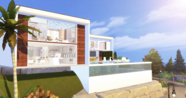 Liily Sims Desing: Suspended Modern Mansion