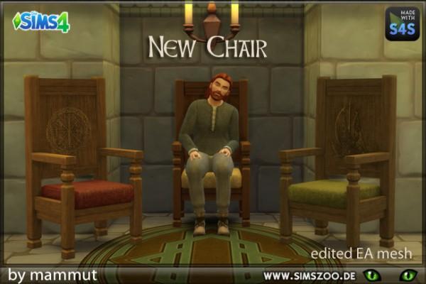 Blackys Sims 4 Zoo: Viking Chair high by mammut