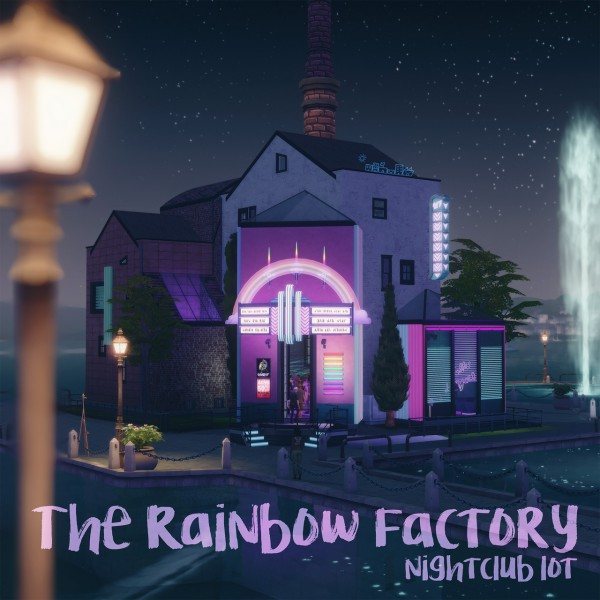 Picture Amoebae: The Rainbow Factory nightclub