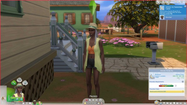 Mod The Sims: Paranormal Career by Dero