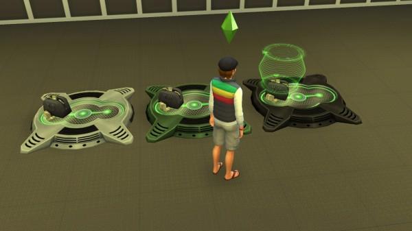 Mod The Sims: Buyable Cloning Machine by mc32bk