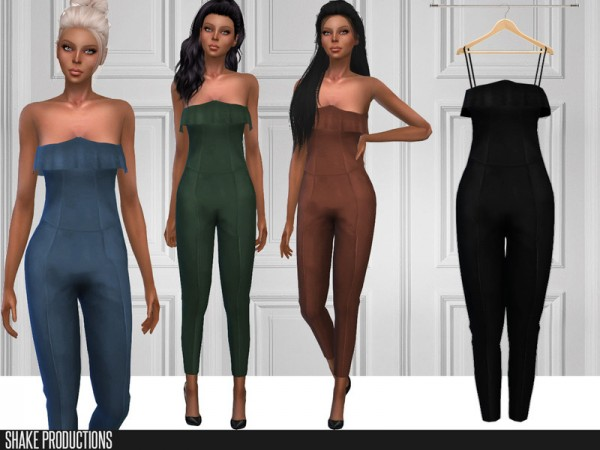 The Sims Resource: 270   Jumpsuit by ShakeProductions