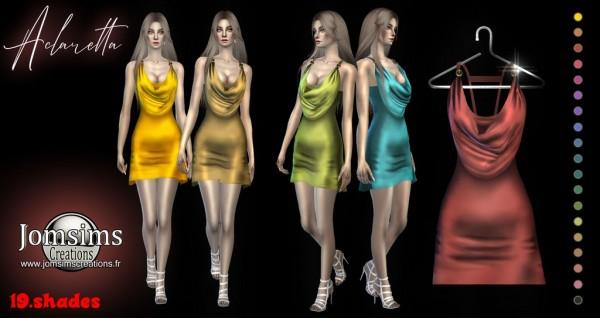 Jom Sims Creations: Aclaretta Dress