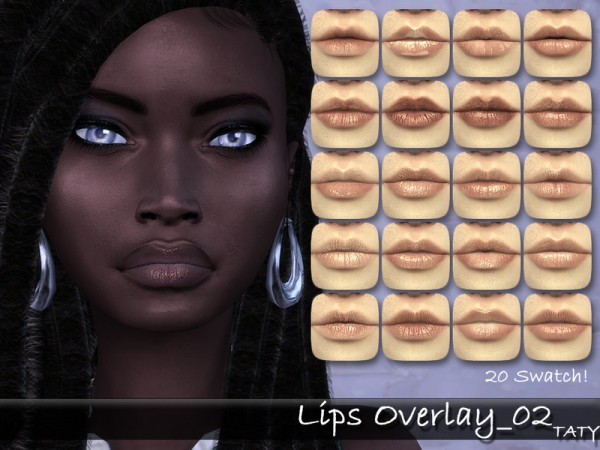 The Sims Resource: Lips Overlay by tatygagg