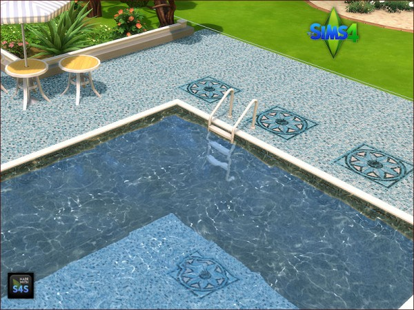 Arte Della Vita: Pool tiles for walls and floors