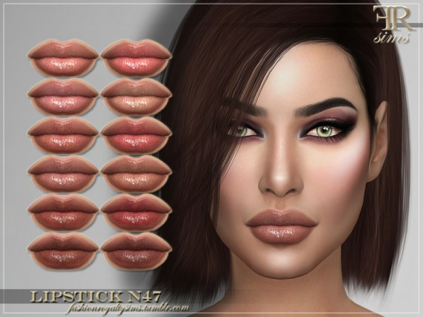 The Sims Resource: Lipstick N47by FashionRoyaltySims