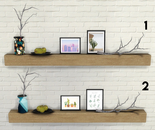 Descargas Sims: Shelves With Clutter