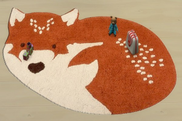Blackys Sims 4 Zoo: Kids rugs animals by sylvia60