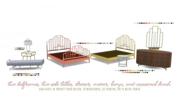 Simsational designs: Ophelia Bedroom Suite
