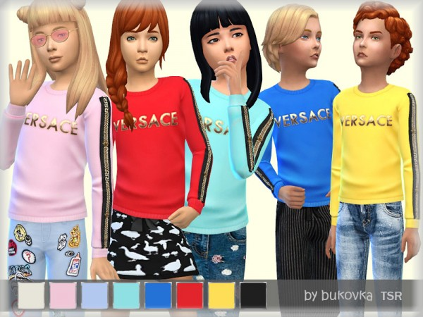 The Sims Resource: Shirt Chids by bukovka