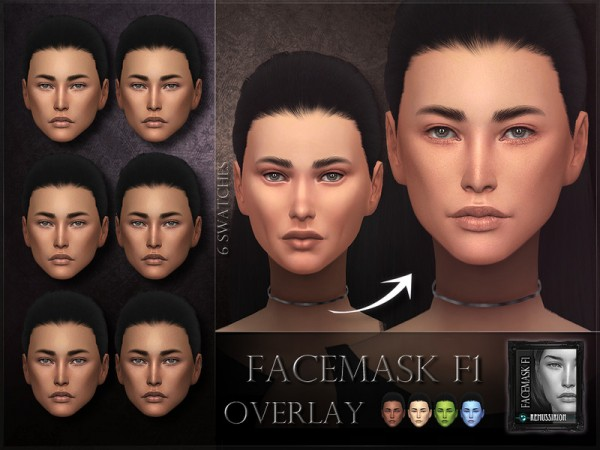 The Sims Resource: Facemask 01   OVERLAY by RemusSirion