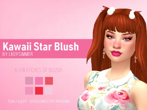 The Sims Resource: Kwaii Star Blush by LadySimmer94