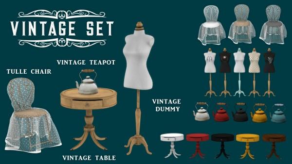 Leo 4 Sims: Vintage Set