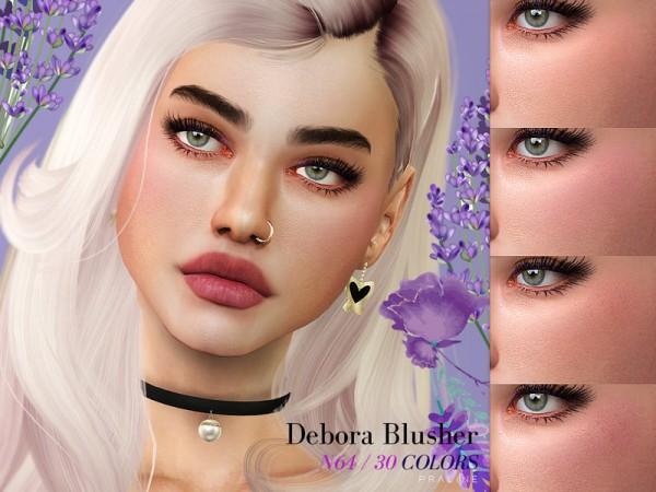 The Sims Resource: Debora Blusher N64 by Pralinesims
