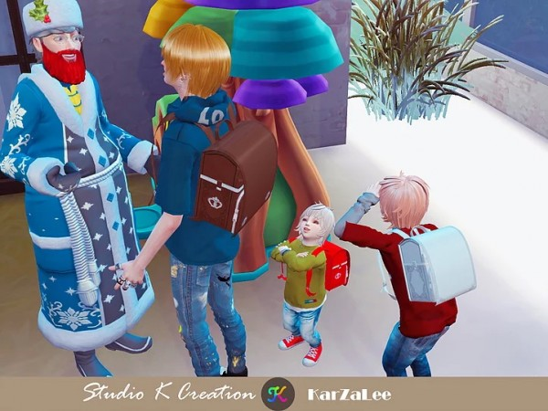 Studio K Creation: Randoseru backpack