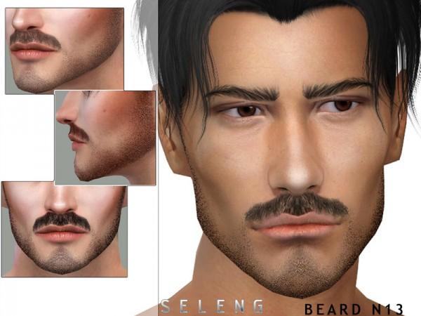 The Sims Resource: Beard N13 by Seleng