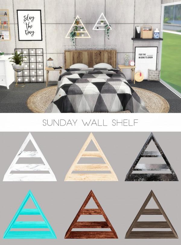 Kenzar Sims: Sunday Wall