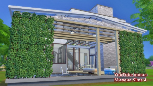 Sims 3 by Mulena: House to order no CC