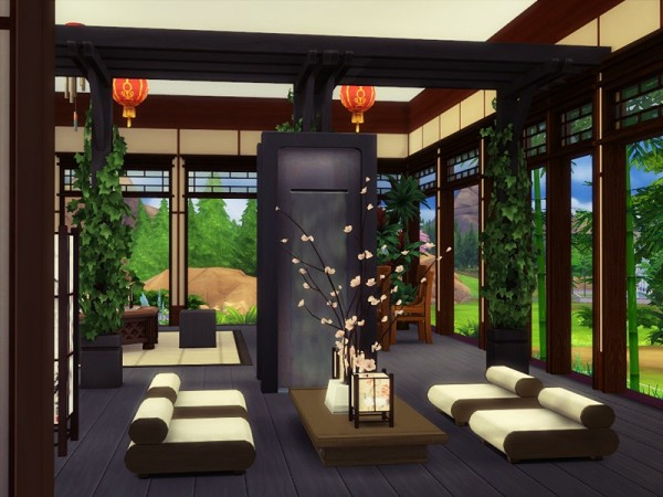 The Sims Resource: SAKE  Restaurant by marychabb