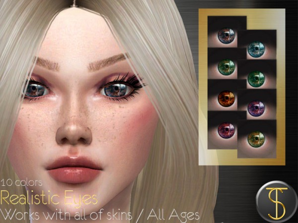 The Sims Resource: Realistic Eyes 01 by turksimmer