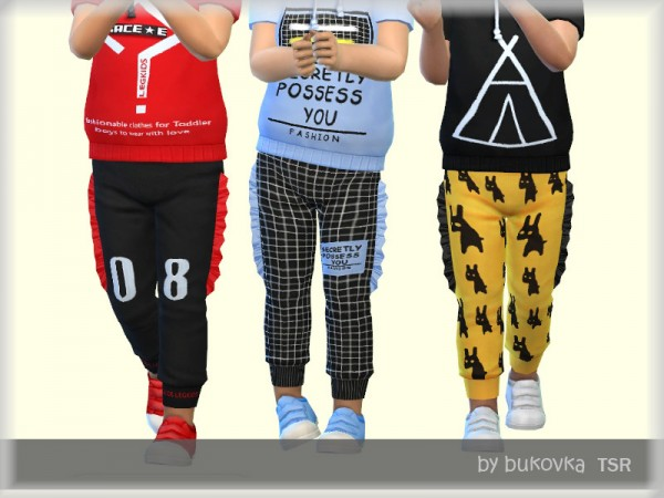 The Sims Resource: Pants male by bukovka