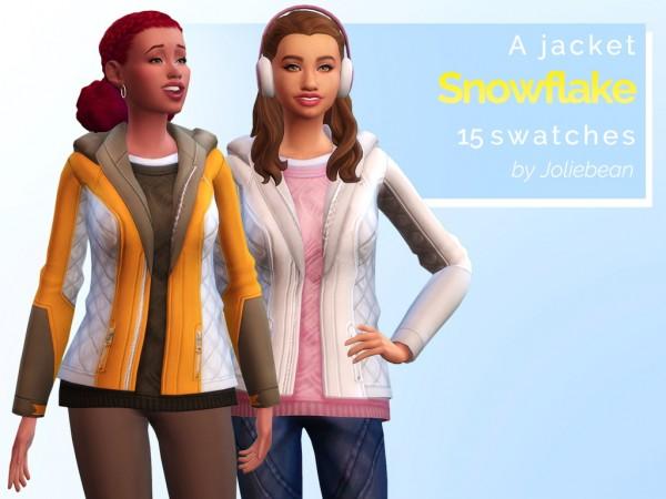 Joliebean: Snowflake jacket
