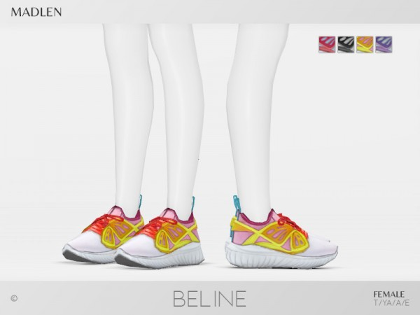 The Sims Resource: Madlen`s Beline Shoes by MJ95