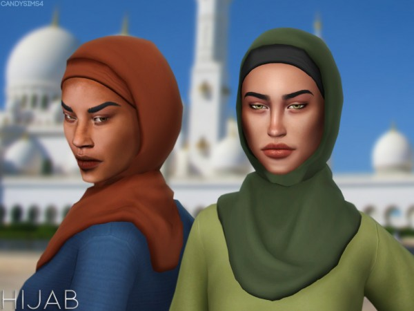 Candy Sims 4: Hijab