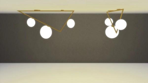 Meinkatz Creations: Traingles Lamp