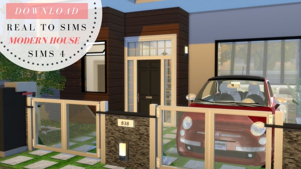 Dinha Gamer Modern Architecture House Sims 4 Downloads