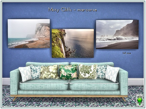 The Sims Resource: Misty Cliffs by marcorse