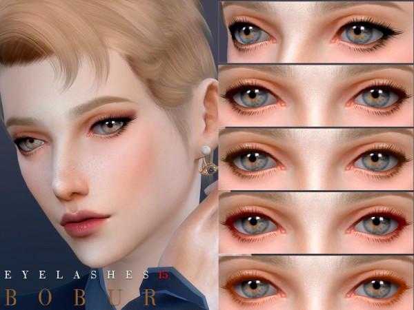 The Sims Resource: Eyelashes 15 by Bobur3