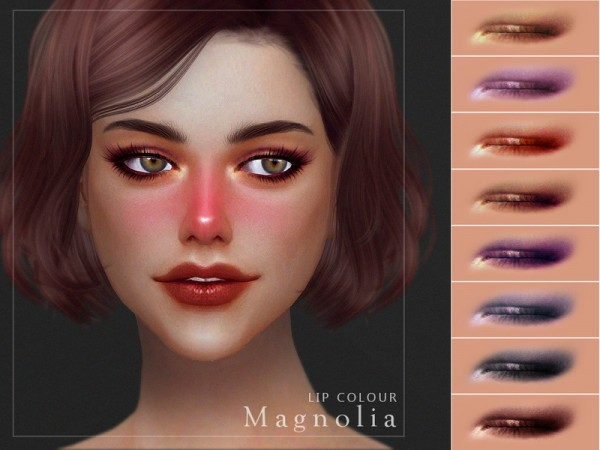 The Sims Resource: Magnolia Eyeshadow by Screaming Mustard