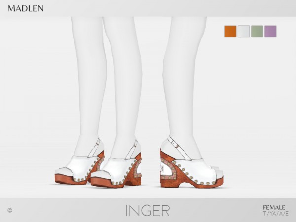 The Sims Resource: Madlen Inger Shoes by MJ95