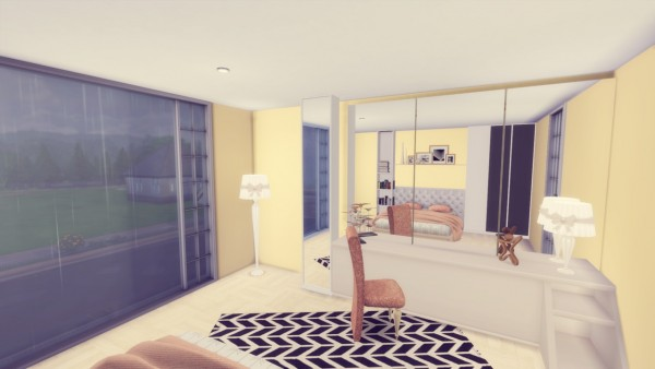 Simming With Mary: Woodside House