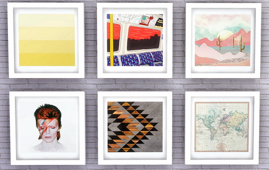 Descargas Sims: Paintings 03