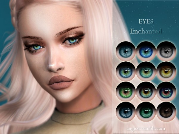 The Sims Resource: Eyes Enchanted by ANGISSI