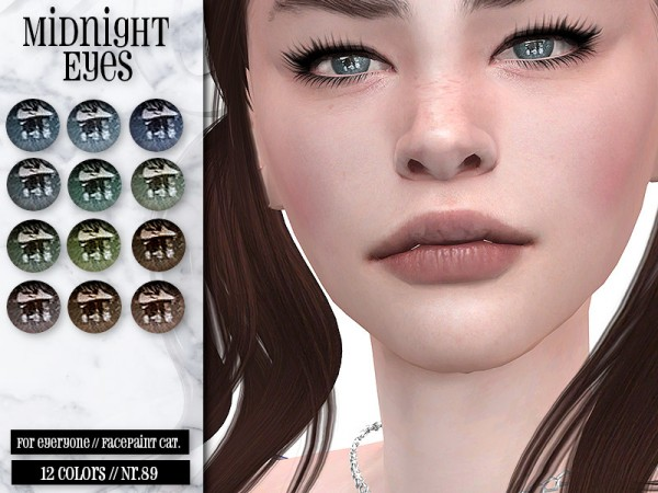 The Sims Resource: Midnight Eyes N.89 by IzzieMcFire