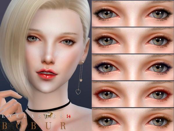 The Sims Resource: Eyelashes 14 by Bobur3