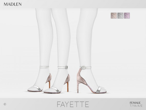 The Sims Resource: Madlen Fayette Shoes by MJ95