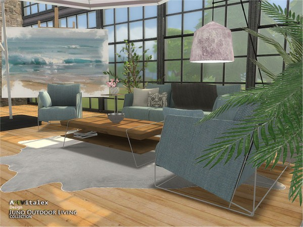 The Sims Resource: Juno Outdoor Living by ArtVitalex